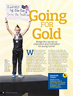 Going For Gold Article in SGHS Healthy Partners Winter 2017 Edition
