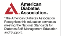 Accredited by The American Diabetes Association
