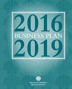 Cover of 2016 through 2019 Business Plan