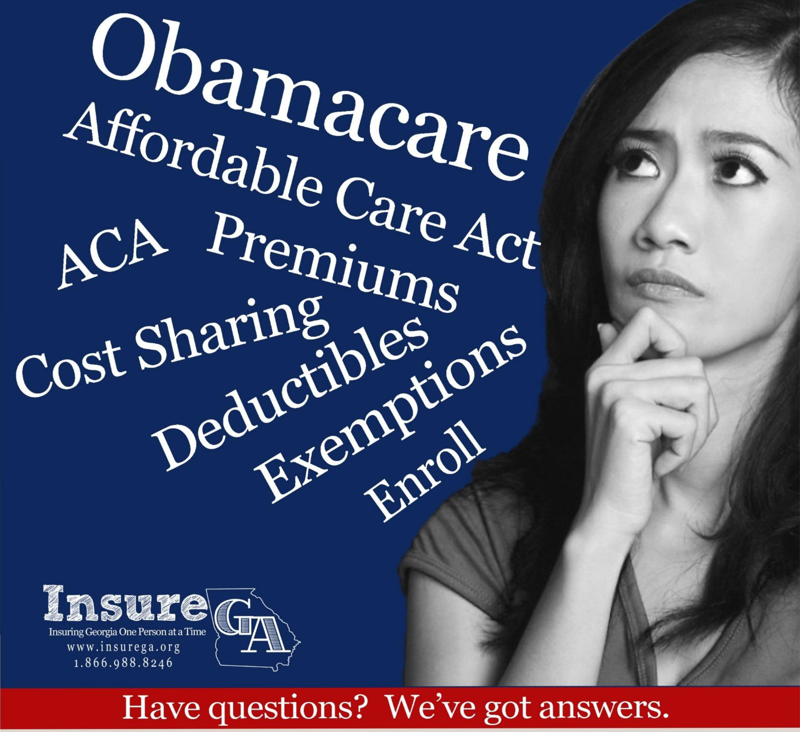 Obamacare Affordable Care Act ACA Questions Button