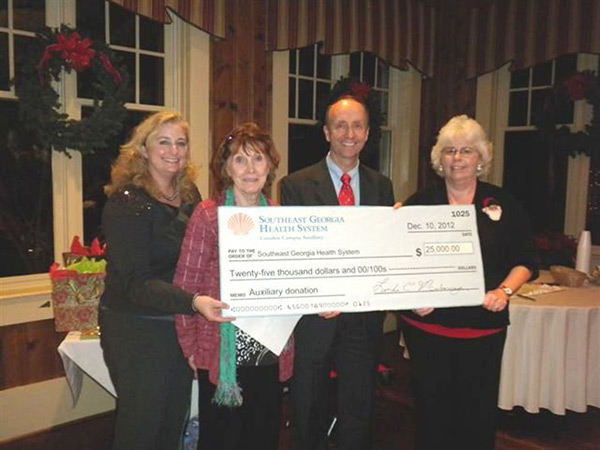 Health System Receives Donation from Camden Auxiliary