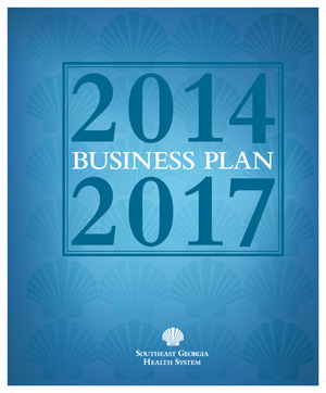 Cover of 2014 through 2017 Business Plan