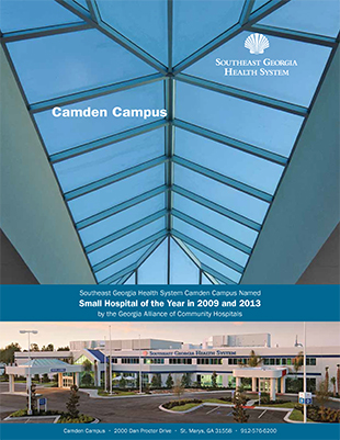 camden campus hospital brochure cover