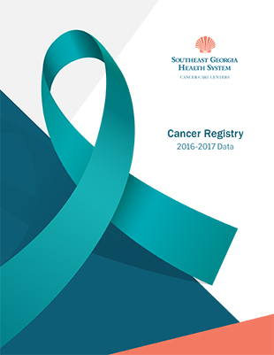 Cancer Registry Annual Report Cover