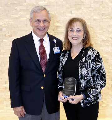 Volunteer of the Year: Tricia Boatright for the Brunswick Campus