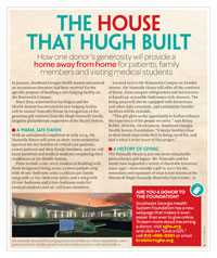 The House that Hugh Built Magazine Article