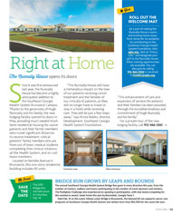 Right At Home magazine article