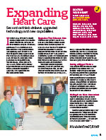 Expanding Heart Care Article in SGHS Healthy Partners Magazine Summer 2016 Edition