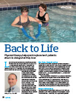 Back to Life Physical Therapy Article in SGHS Healthy Partners Magazine Summer 2016 Edition